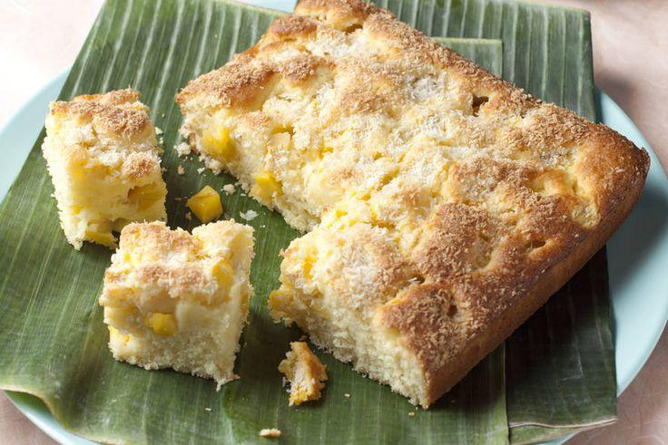 11 februari - Mango in de bonus - Recept - Mango-kokostaart - Allerhande