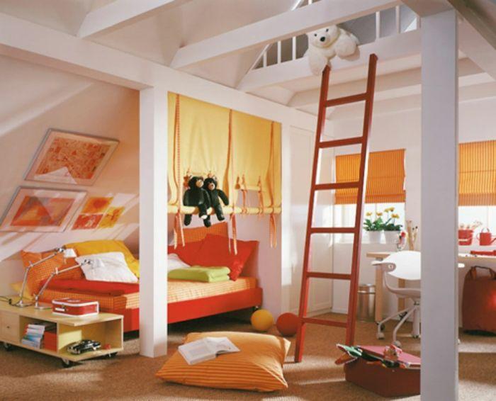 Die besten 25+ Orange zimmer Ideen auf Pinterest Orangefarbene - schlafzimmer orange