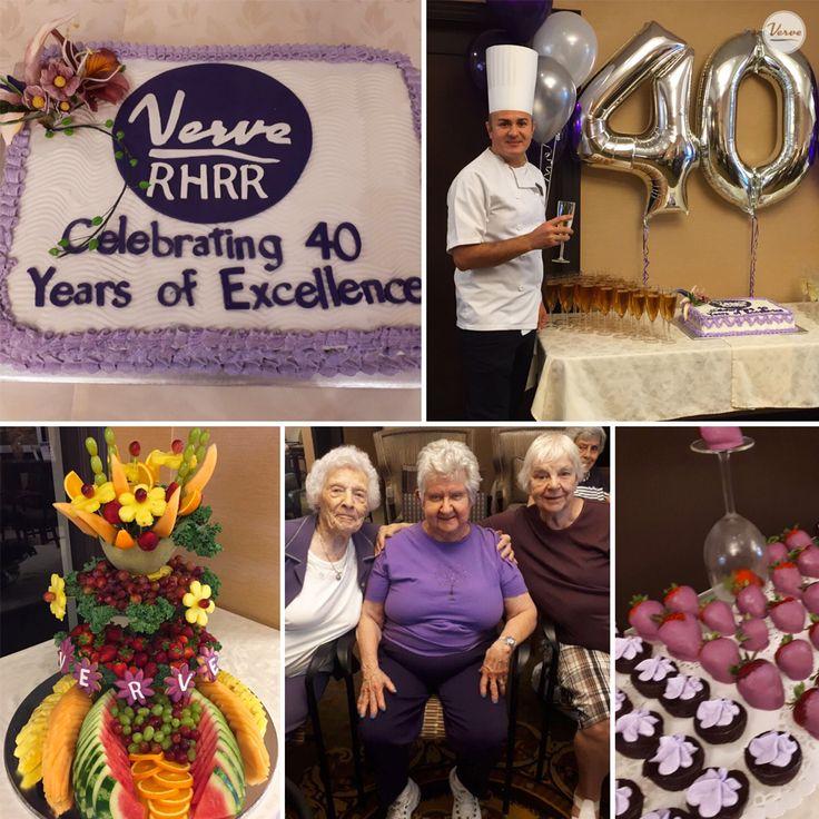 CELEBRATING 40 YEARS OF EXCELLENCE! #richmondhillretirementresidence #verveseniorliving