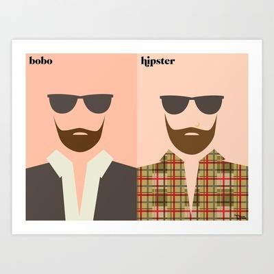 bobo vs hipster