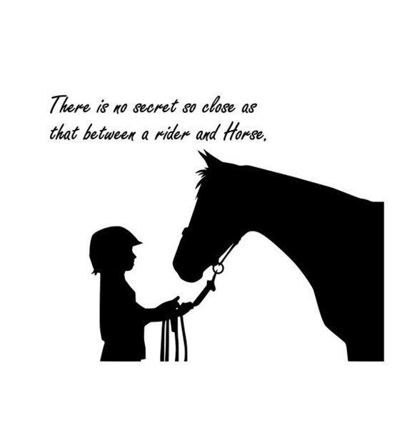 Paard decal-paard sticker-Quote decal-paard door aluckyhorseshoe