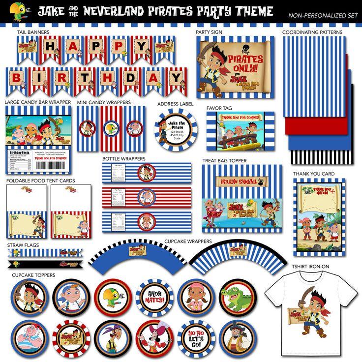 313 best 4th birthday: pirates images on Pinterest | 4th birthday ...