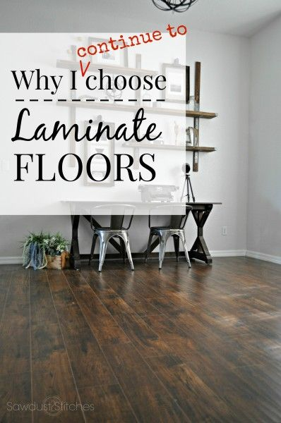 Laminate Floor Select Surfaceslooring Office www.sawdust2stitches.com F
