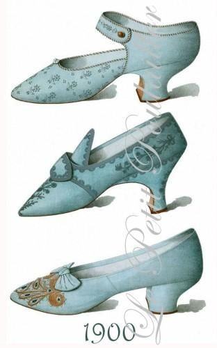 "La Belle Epoque Shoes- ""Beautiful Era"" was a period in French history that is conventionally dated as starting in 1871 and ending when World War I"