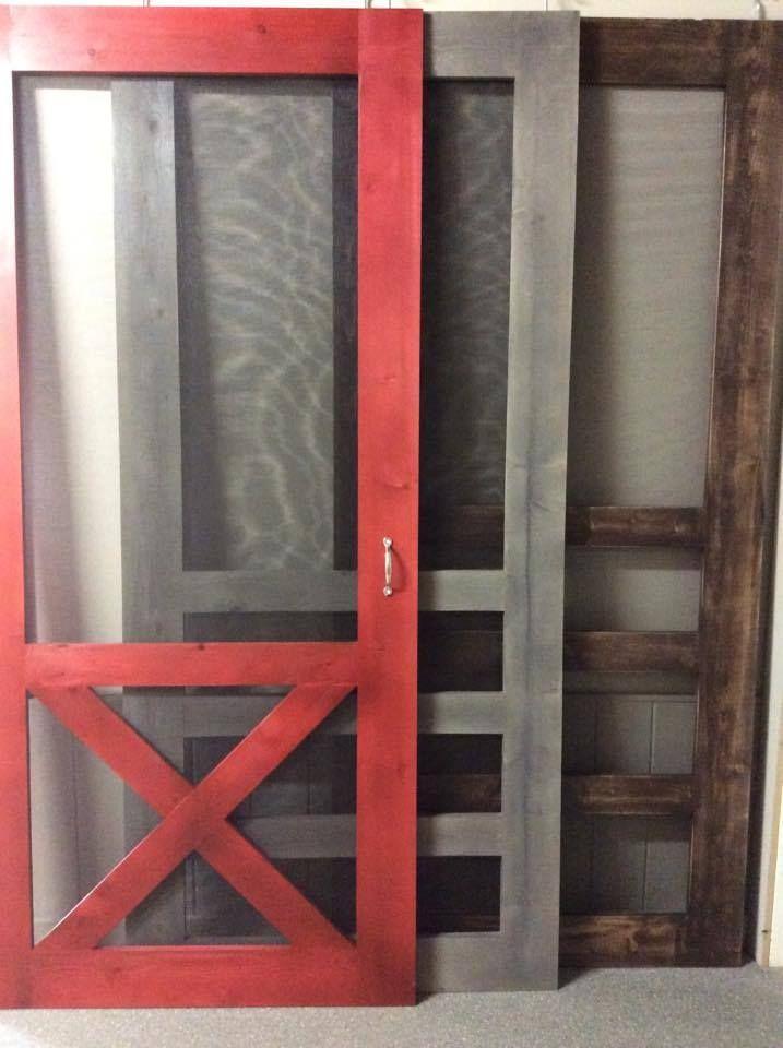 Modern Farmhouse Style Custom Built Superior Screen Doors By