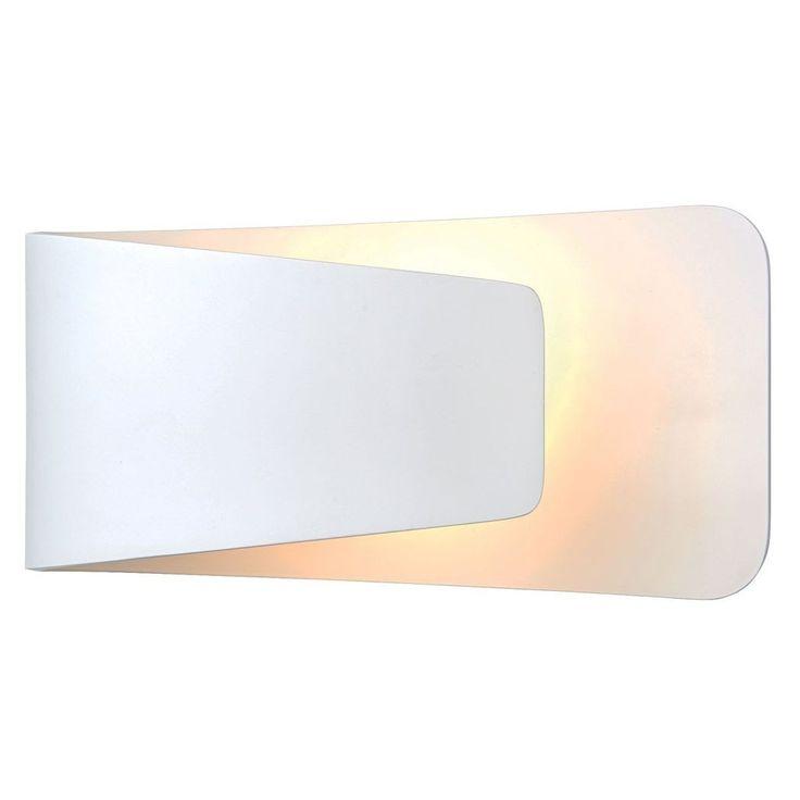Endon Jenkins LED Wall Light White