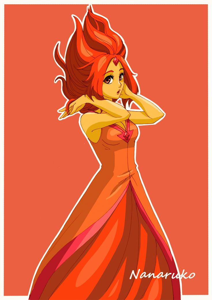 Flame Princess - Adventure Time by Nanaruko.deviantart.com on @deviantART
