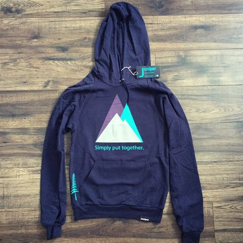 Mountain and Tree Hoodie (Unisex)