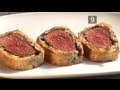 Gordon Ramsey's take on Beef Wellington. Not half bad... See how he makes it.