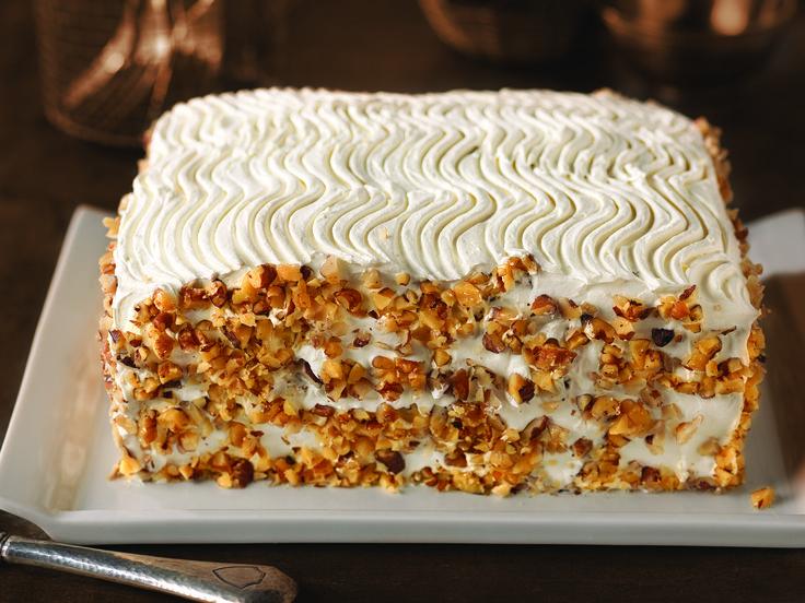 Bakery-Style Carrot Cake dessert recipe with COOL WHIP Frosting