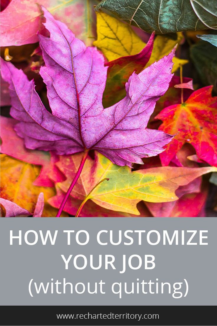 short and sweet resignation letter%0A Follow this sixstep plan to customize your job to better fit your goals