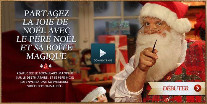 Père Noël magique : Un message vidéo de Santa pour vos enfants !