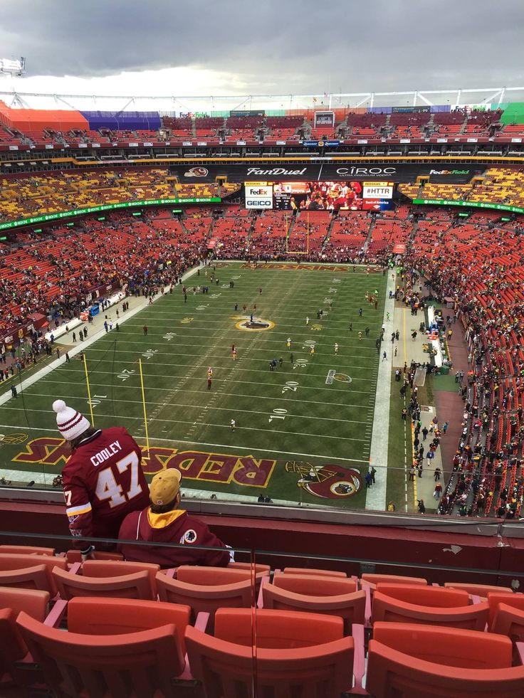 "The ""Madden Seats"" #Redskins"