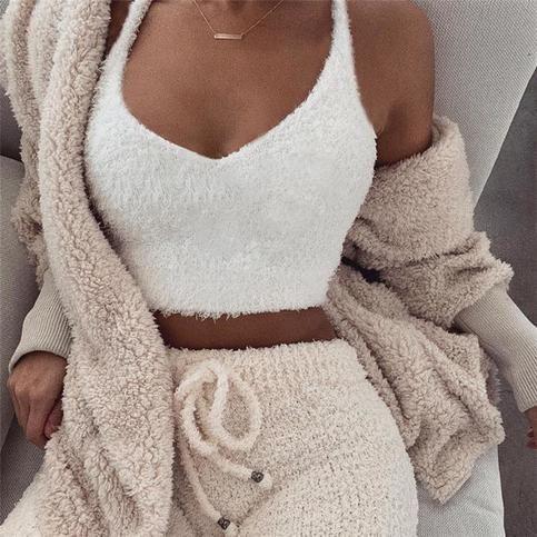 Slim Women'S V-Neck Vest Tops from clothing