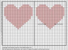 Image result for knitting heart pattern