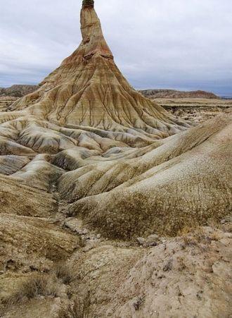 Le Parc naturel des #Bardenas #Reales : un superbe #désert en Espagne