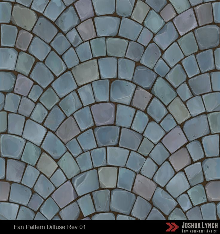 Fan Pattern Cobblestone - Polycount Forum