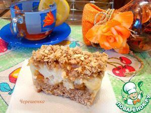 Овсяные пирожные с корицей, яблоком и йогуртом