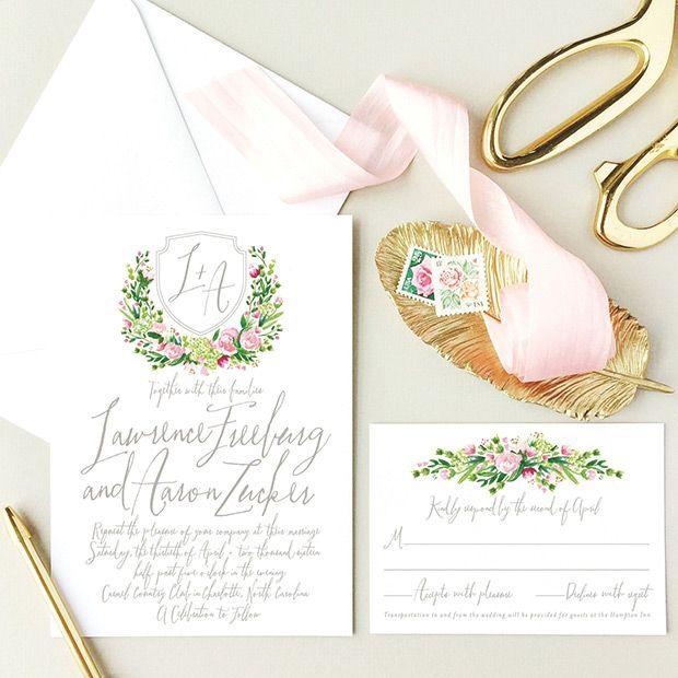 1000 Ideas About Beautiful Wedding Invitations On Pinterest