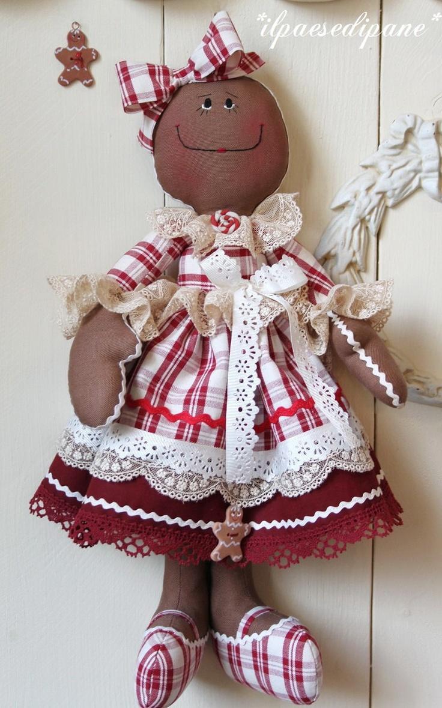 Gingerbread Dolls. RougeFramboise, Vaniglia e Gianduja. €38.00, via Etsy.