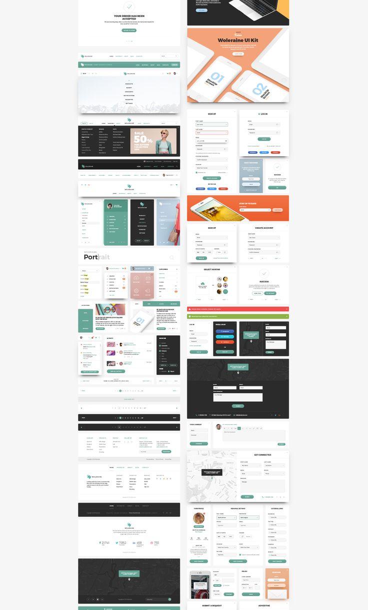 UI8 — Products — Woleraune UI Kit