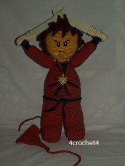 Kai -  Lego Ninjago  Zapraszam na bloga: https://4crochet4.000webhostapp.com/  W razie pytań proszę o kontakt