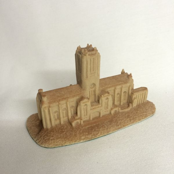 This unique piece of art work is hand made locally from resin material and is exclusive to Liverpool Cathedral. For its size, it incorporates a lot of detail of the Cathedral and has a sandstone texture to it, just like the real thing!