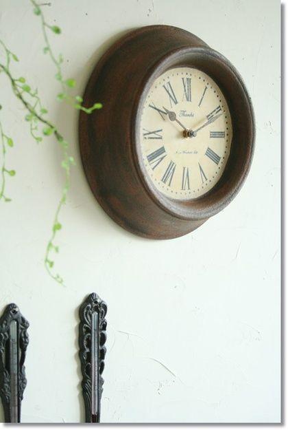 ブランシュマンブロカントクロック/アンティークインテリア壁掛け時計P27Mar15