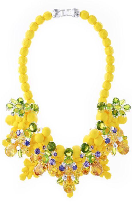 Wrexham Buttercup Necklace by Ek Thongprasert for Preorder on Moda Operandi