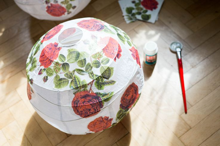 IKEA hack – REGOLIT with roses by Dnilva