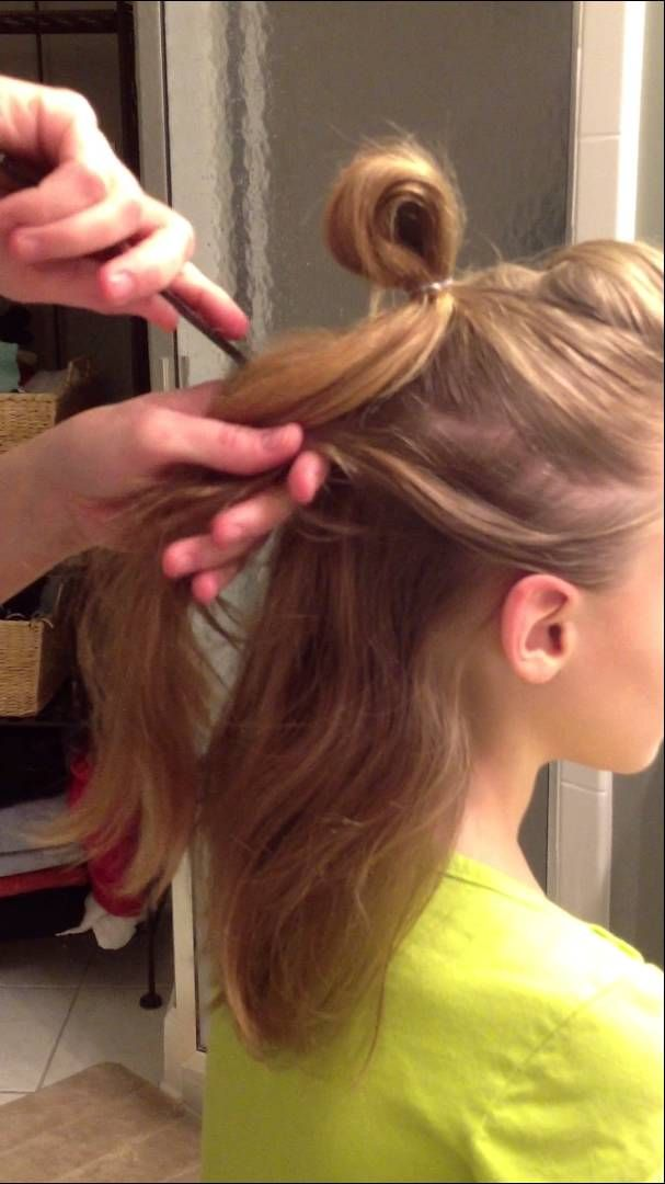Faux Hawk Hair Tutorial for Dance Competition with The F.I.R.M. Dance Co...