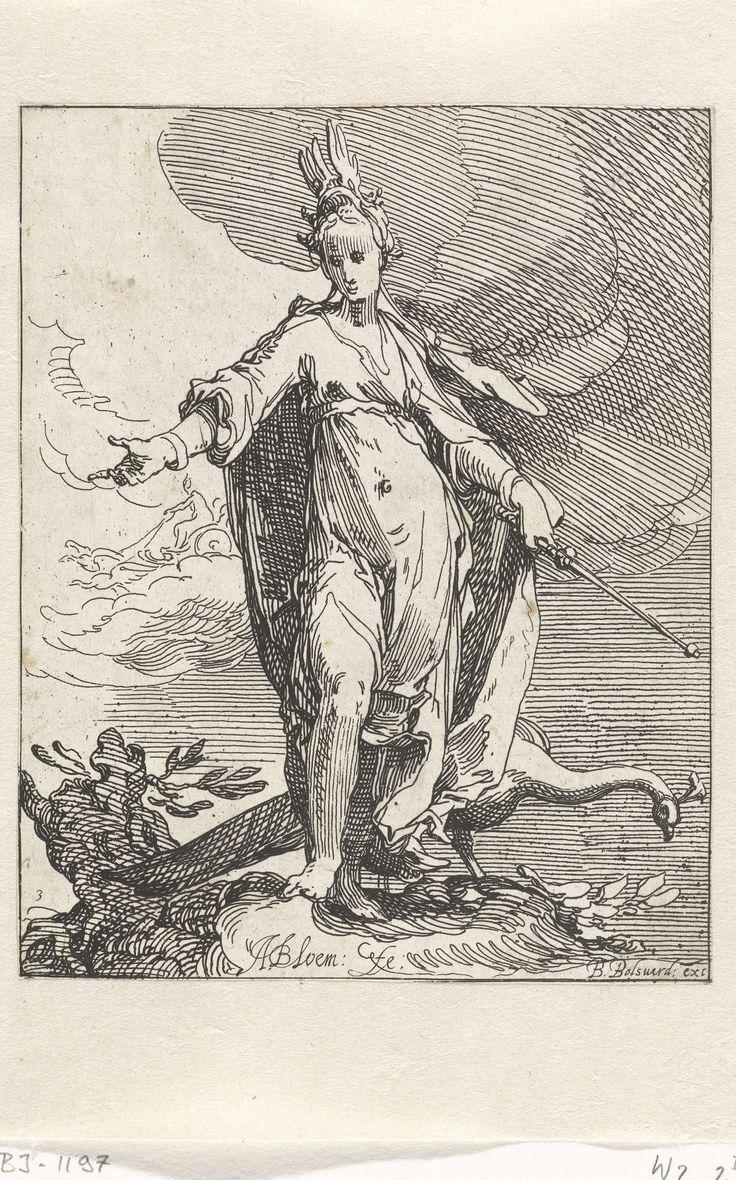 Juno, Abraham Bloemaert, Bo�tius Adamsz. Bolswert, 1608 - 1612
