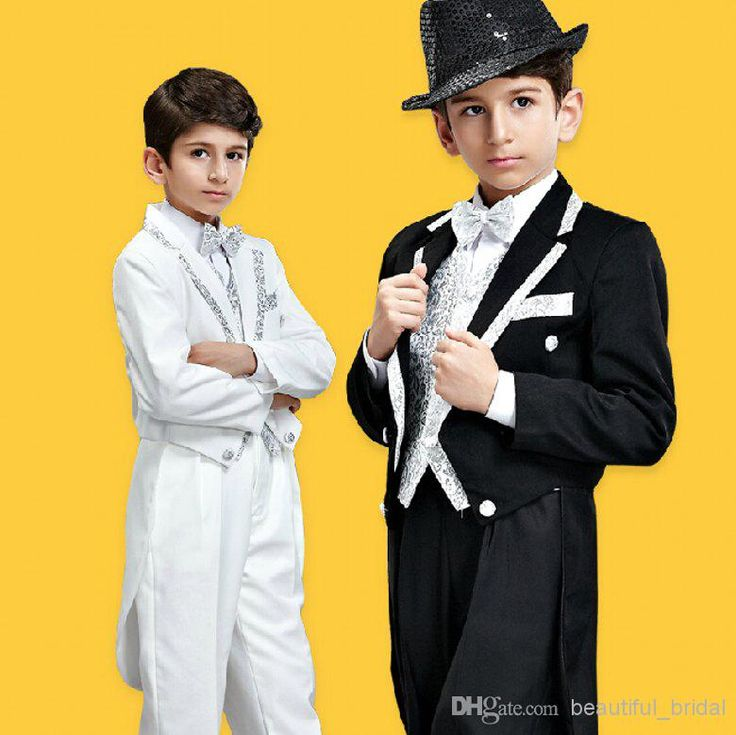Custom Made 2015 Baby Boy Formal Wear Suits Kids Wedding Party Tuxedos For 5 10 Years Boy Stage High Quality Jacket+Pants+Vest+Tie Boys Formal Clothing Boys Formal Pants From Beautiful_bridal, $69.11| Dhgate.Com