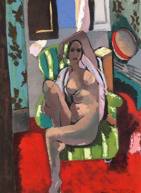 """Henri Matisse - """"Odalisque au tambourin"""" (1926) - Les Collectionneurs Associés…"""