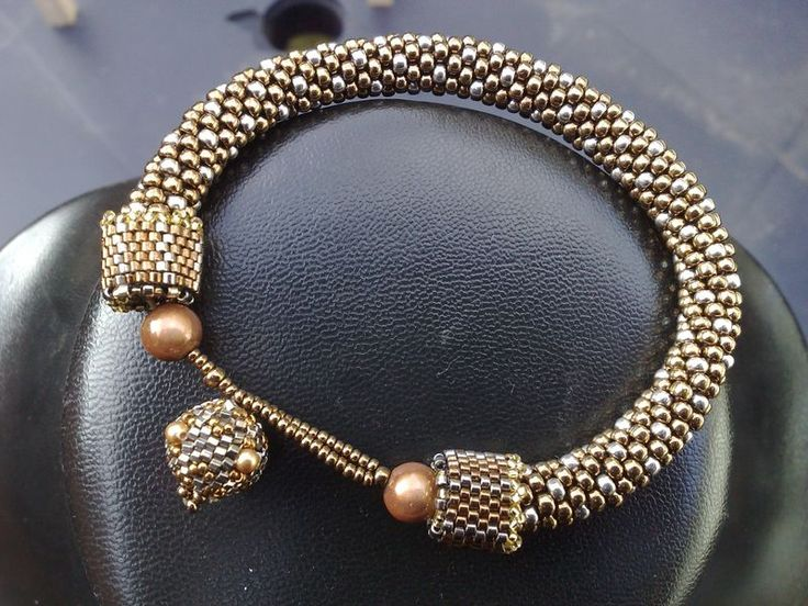 calottes perlées - créations de perles