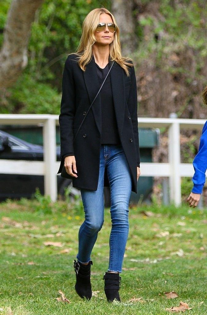 Vote! Which Celebrity Had the Best Weekend Street Style? // Heidi Klum | Stylebistro.com
