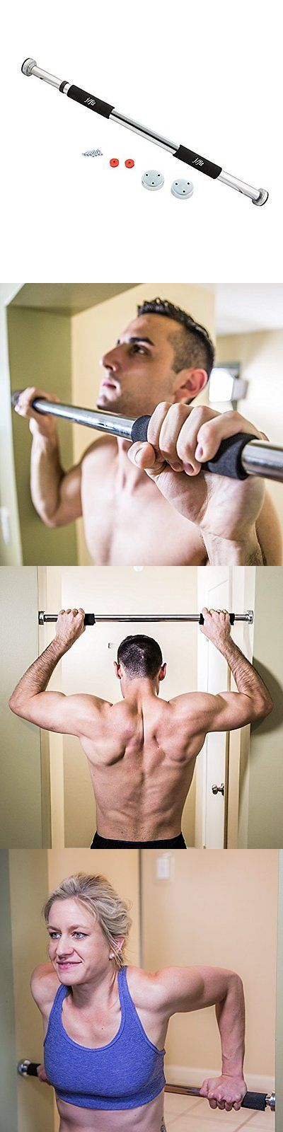 Pull Up Bars 179816: New Jfit Deluxe Doorway Pull Up Bar Free Shipping -> BUY IT NOW ONLY: $36.52 on eBay!