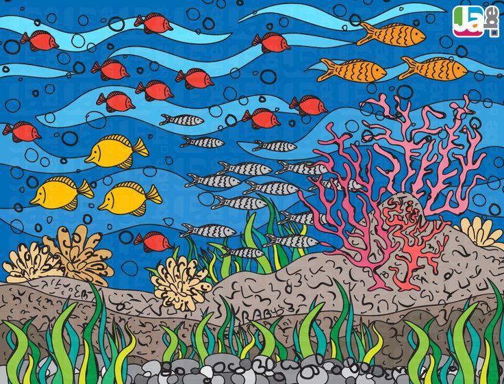 zoekspel oceaan