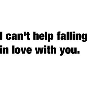 I Can't Help Falling In Love With You by Michael Buble Lyrics