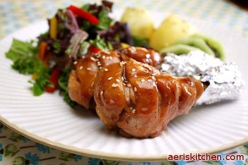 Drumstick Soy Sauce Jorim   Aeri's Kitchen   Cooking Korean Recipes & Food