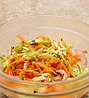 How to Make Coleslaw Dressing Seven Methods:Traditional Coleslaw DressingLow-Fat Coleslaw Yogurt DressingSpicy Peanut Coleslaw DressingVinaigrette Coleslaw DressingLemon Caper Coleslaw DressingWasabi Coleslaw DressingPoppy Seed Coleslaw DressingQuestions and Answers Whether you're looking for an easy way to spice up a prepared coleslaw mix from a bag or interested in trying a new dressing with your favorite homemade coleslaw blend, then the following coleslaw dressings can do just the trick.