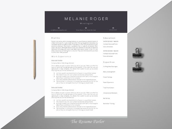 32 best Resumes images on Pinterest Design resume, Resume design - professional resume fonts