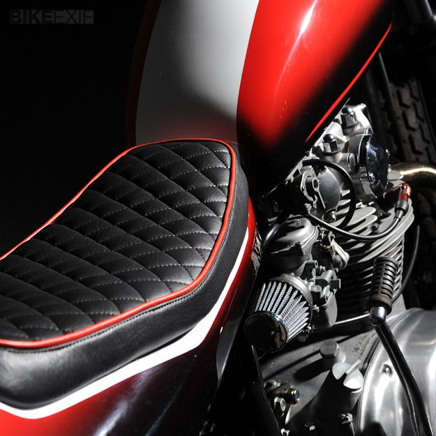 motorcycle seat: Leather Crafes, Café Racers, Future Motorcycles, Motorcycles Seats, Cafes Racers, Motorcycles Passion, Pretty Sweets, Motorcycle Seat, Street Tracker 3 Jpg 625 625