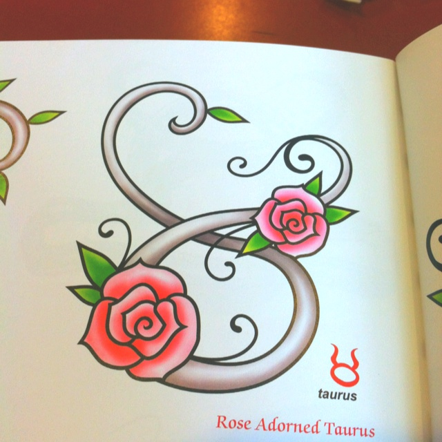 The prettiest taurus tattoo design i've ever seen
