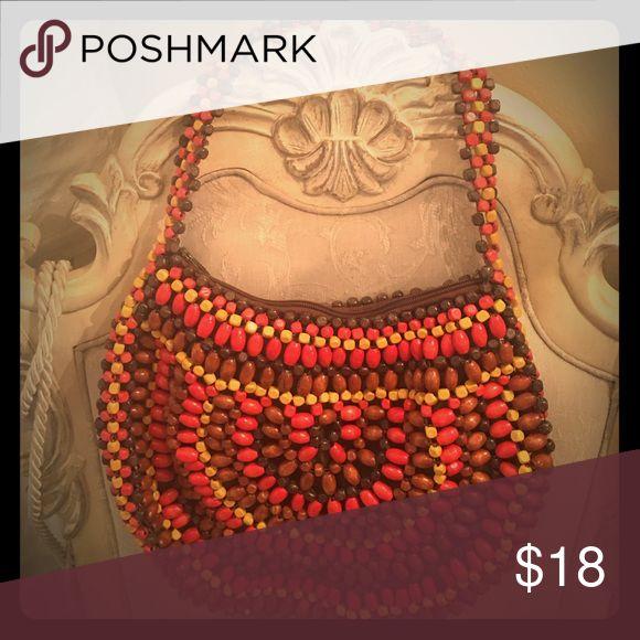 Purse Vintage Style beaded Purse Apt. 9 Apt. 9 Bags Hobos
