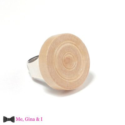 Fair wooden checker ring