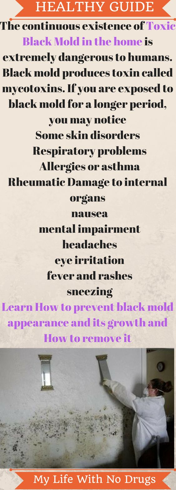 Black mold is dangerous here is how to remove it