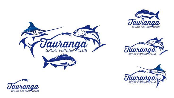 fishing club logo design