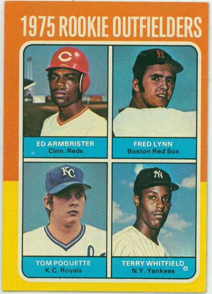 '75 Topps Fred Lynn rookie