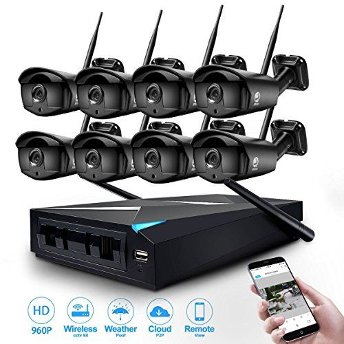 From 298.98:Jooan 8x 960p Wifi Security Camera Cctv System 8 Channel Nvr Cctv Recorder Support Wireless Transmission Email Push Motion Detection
